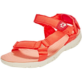 Jack Wolfskin Seven Seas 2 Sandals Women hot coral